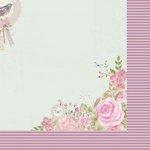 Kaisercraft - True Romance Collection - 12 x 12 Double Sided Paper - Faithful