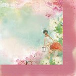 Kaisercraft - Enchanted Garden Collection - 12 x 12 Double Sided Paper - Bewitch