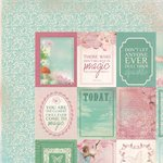 Kaisercraft - Enchanted Garden Collection - 12 x 12 Double Sided Paper - Rapture