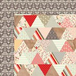Kaisercraft - Sweet Pea Collection - 12 x 12 Double Sided Paper - Foxy