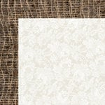 Kaisercraft - Base Coat Collection - 12 x 12 Double Sided Paper - Lace