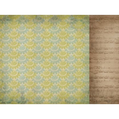 Kaisercraft - Heirloom Collection - 12 x 12 Double Sided Paper - Past