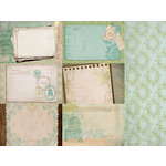 Kaisercraft - Heirloom Collection - 12 x 12 Double Sided Paper - Genealogy
