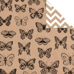 Kaisercraft - Mix and Match Collection - 12 x 12 Double Sided Paper - Butterflies