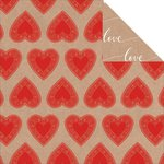 Kaisercraft - Mix and Match Collection - 12 x 12 Double Sided Paper - Hearts
