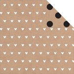 Kaisercraft - Mix and Match Collection - 12 x 12 Double Sided Paper - Tiny Hearts