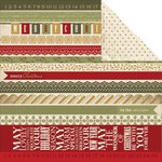 Kaisercraft - Yuletide Collection - 12 x 12 Double Sided Paper - Goodwill