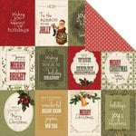 Kaisercraft - Yuletide Collection - Christmas - 12 x 12 Double Sided Paper - Joyful