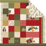 Kaisercraft - Yuletide Collection - Christmas - 12 x 12 Double Sided Paper - Miracle