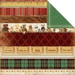 Kaisercraft - Teddy Bears Picnic Collection - 12 x 12 Double Sided Paper - Parade