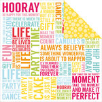 Kaisercraft - Pop Collection - 12 x 12 Double Sided Paper - Party Time