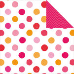 Kaisercraft - Pop Collection - 12 x 12 Double Sided Paper - Polka