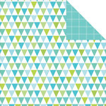 Kaisercraft - Pop Collection - 12 x 12 Double Sided Paper - Bunting
