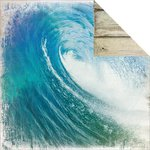Kaisercraft - Sandy Toes Collection - 12 x 12 Double Sided Paper - Surf