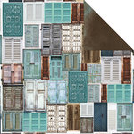 Kaisercraft - Blue Bay Collection - 12 x 12 Double Sided Paper - Sky Blue