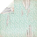 Kaisercraft - Blue Bay Collection - 12 x 12 Double Sided Paper - Placid