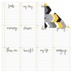 Kaisercraft - Shine Bright Collection - 12 x 12 Double Sided Paper - Mango