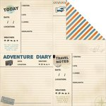 Kaisercraft - Wanderlust Collection - 12 x 12 Double Sided Paper - Lost