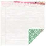 Kaisercraft - Oh So Lovely Collection - 12 x 12 Double Sided Paper - Damsel