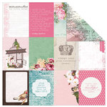 Kaisercraft - Oh So Lovely Collection - 12 x 12 Double Sided Paper - Lass