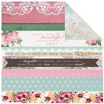 Kaisercraft - Oh So Lovely Collection - 12 x 12 Double Sided Paper - Miss