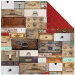 Kaisercraft - Antique Bazaar Collection - 12 x 12 Double Sided Paper - Collector's