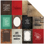 Kaisercraft - Antique Bazaar Collection - 12 x 12 Double Sided Paper - Character