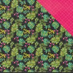 Kaisercraft - Say Aloha Collection - 12 x 12 Double Sided Paper - Papaya