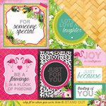 Kaisercraft - Say Aloha Collection - 12 x 12 Double Sided Paper - Weave