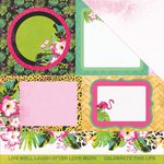 Kaisercraft - Say Aloha Collection - 12 x 12 Double Sided Paper - Malibu