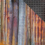Kaisercraft - Scrap Yard Collection - 12 x 12 Double Sided Paper - Rusty