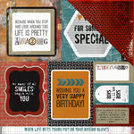 Kaisercraft - Scrap Yard Collection - 12 x 12 Double Sided Paper - Loft