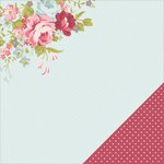 Kaisercraft - Secret Garden Collection - 12 x 12 Double Sided Paper - Posy
