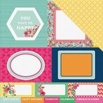 Kaisercraft - Fiesta Collection - 12 x 12 Double Sided Paper - Arriba