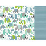 Kaisercraft - Little One Collection - 12 x 12 Double Sided Paper - Ollie