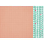 Kaisercraft - Little One Collection - 12 x 12 Double Sided Paper - Mia