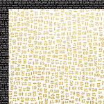 Kaisercraft - A Touch of Gold Collection - 12 x 12 Double Sided Paper - Sheen