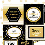Kaisercraft - A Touch of Gold Collection - 12 x 12 Double Sided Paper - Lavish
