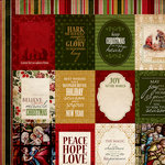 Kaisercraft - Holy Night Collection - Christmas - 12 x 12 Double Sided Paper - Faith