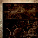 Kaisercraft - Time Machine Collection - 12 x 12 Double Sided Paper - Steam Engine