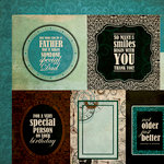 Kaisercraft - Time Machine Collection - 12 x 12 Double Sided Paper - Hourglass