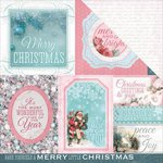 Kaisercraft - Silver Bells Collection - Christmas - 12 x 12 Double Sided Paper - Joy