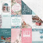 Kaisercraft - Silver Bells Collection - Christmas - 12 x 12 Double Sided Paper - Good Wishes