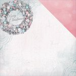 Kaisercraft - Silver Bells Collection - Christmas - 12 x 12 Double Sided Paper - Merry Christmas