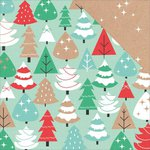 Kaisercraft - Holly Jolly Collection - Christmas - 12 x 12 Double Sided Paper - Hearty