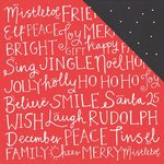 Kaisercraft - Holly Jolly Collection - Christmas - 12 x 12 Double Sided Paper - Cheery