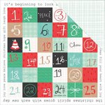 Kaisercraft - Holly Jolly Collection - Christmas - 12 x 12 Double Sided Paper - Peppy