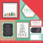 Kaisercraft - Holly Jolly Collection - Christmas - 12 x 12 Double Sided Paper - Chipper
