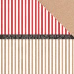 Kaisercraft - Holly Jolly Collection - Christmas - 12 x 12 Double Sided Paper - Zingy