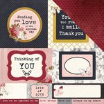 Kaisercraft - Ma Cherie Collection - 12 x 12 Double Sided Paper - Frilly